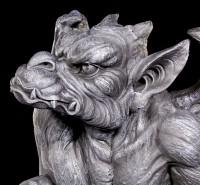 Große Gargoyle Figur - Silas der Wächter