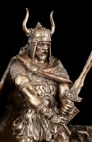 Freyr mit Eber Figur - Germanischer Gott