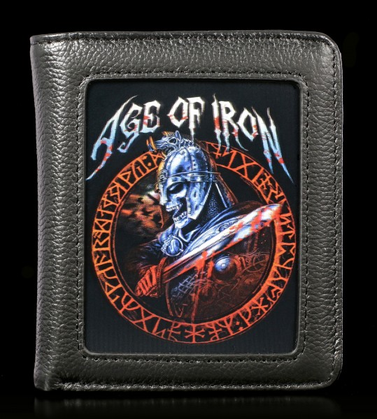 Wallet with 3D Skeleton - Age Of Iron