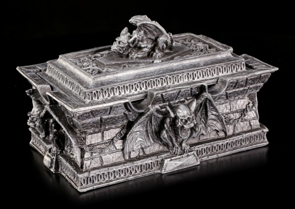 Ancient Box with Gargoyles
