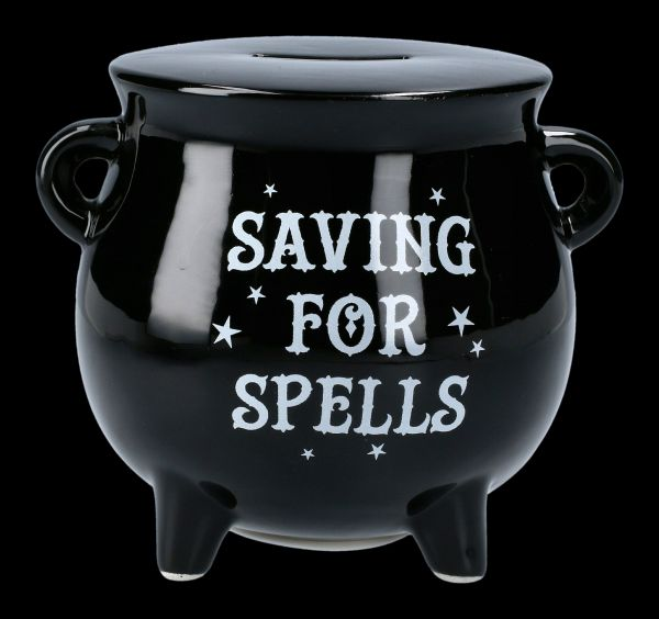 Money Box Cauldron - Saving for Spells