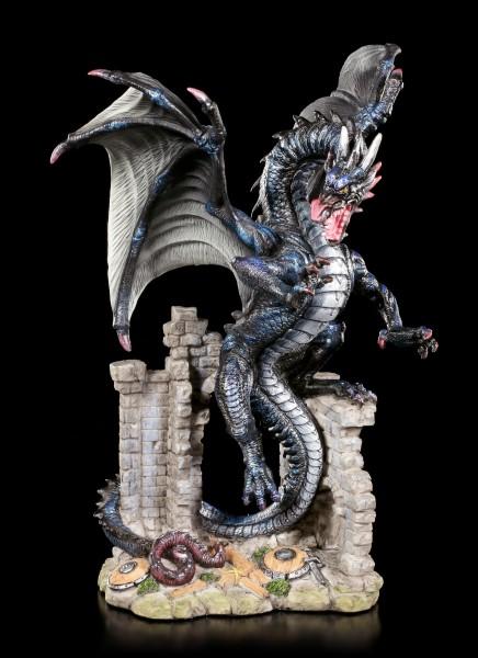 Dragon Figurine - Destructor in Castle Ruin