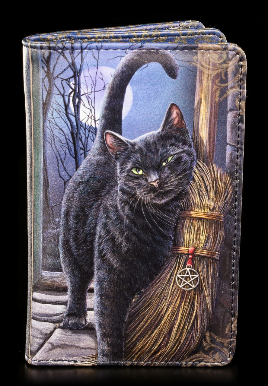 Purse with Cat - A Brush with Magic