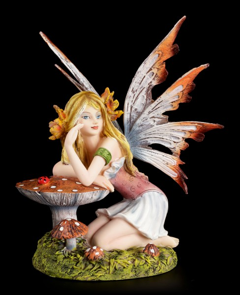 Fairy Figurine - Maria with Toadstool
