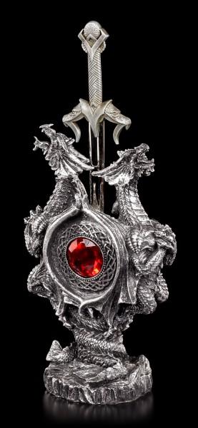 Brieföffner mit Drachen - Double Dragon