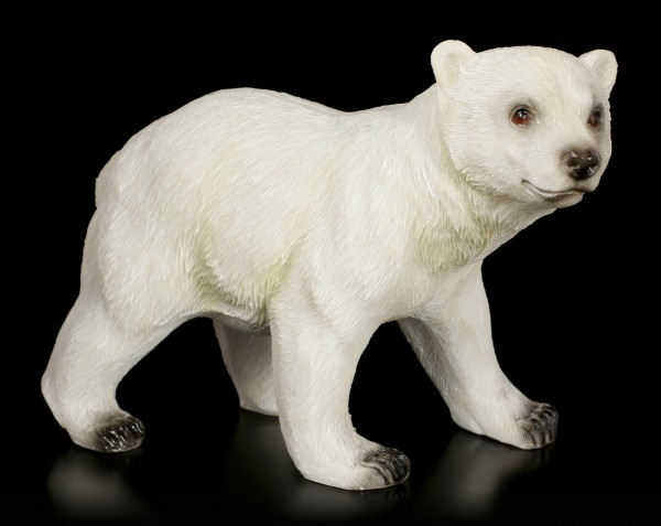 Polar Bear Baby Figurine - Plodding
