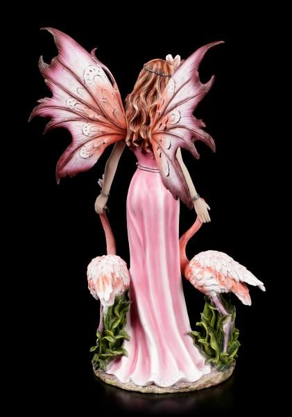 Fairy Figurine - Teina with Flamingos