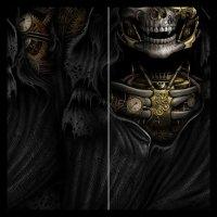 Multifunktions-Gesichtstuch - Steam Punk Reaper