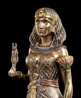 Ägyptische Figur - Königin mit Anubis