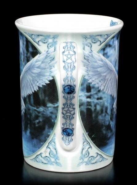 Porcelain Mug with Owl - Awaken your Magic