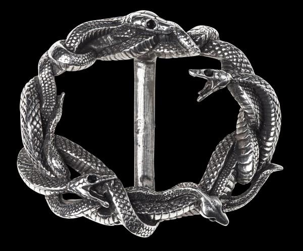Alchemy Gürtelschnalle mit Schlangen - Vipers Nest