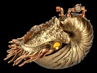 Steampunk Figur - The Nautilus