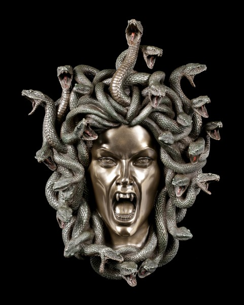 Medusa Wall Ornament