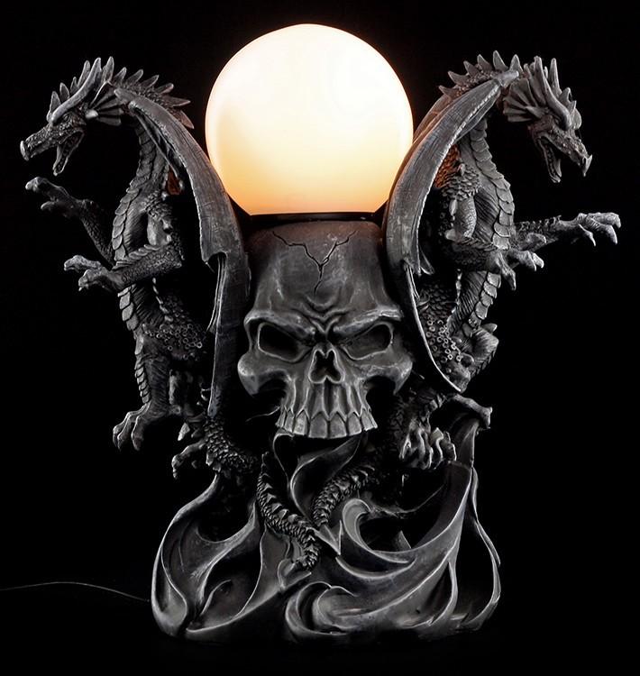 tisch stehlampen lampen einrichtung gothic shop. Black Bedroom Furniture Sets. Home Design Ideas
