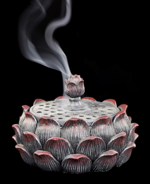 Incense Cone Holder - Lotus Blossom