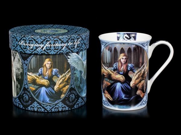 Porzellan Tasse mit Drachen - Fierce Loyalty