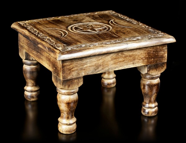 Altar Table with Border - Triple Moon