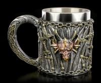 Drachen Krug mit Schwertern - Dragon Kingdom