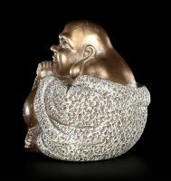 Happy Buddha Figur - Innere Ruhe und Konzentration