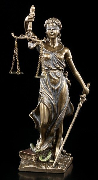 Small Lady Justice Figurine
