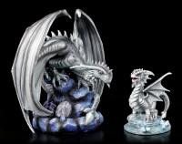 Drachen Figur - Baby Rock Dragon