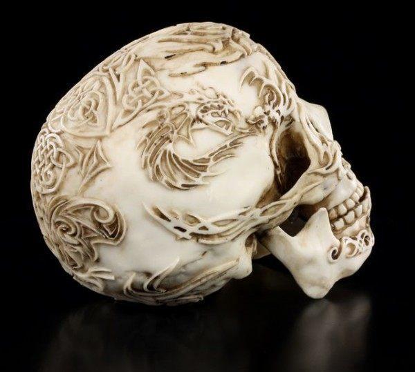 Tribal Tattoo Skull