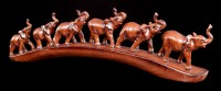 Elephant Figurines - The Herd tramps