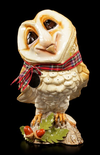 Owl Figurine - Owlbert - Little Paws