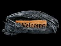 Drachen Figur Willkommen - Welcome
