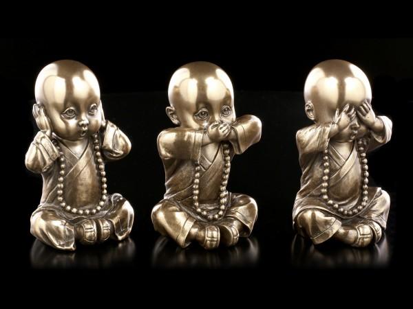 Three Wise Monks - No evil