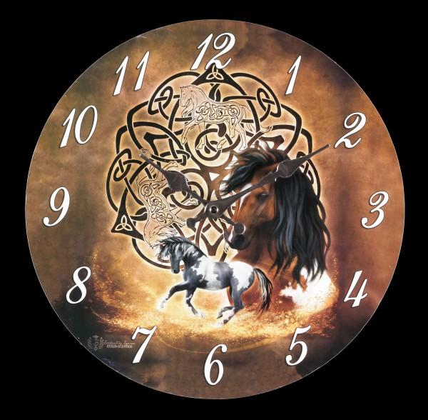 Clock - Celtic Horse