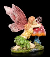 Elfen Figur - Sarija mit Pilz