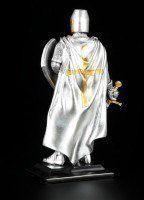 Ritter Figur auf Base mit Schwert und Schild