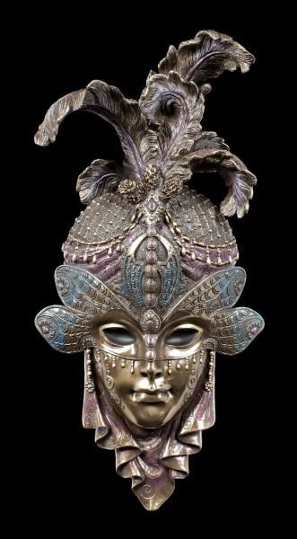 Venezianische Maske - Libelle