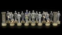 Medieval Chessmen Set - Knights