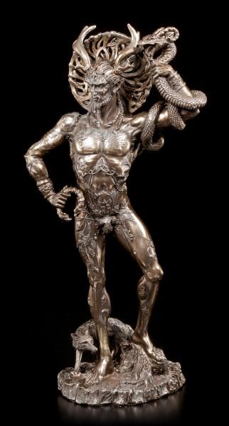 Götter Figur - Gehörnter Cernunnos