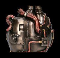Steampunk Table Clock - Heart Beat