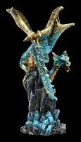 Drachen Figur - Hear me Roar - blau