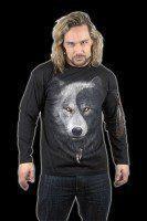 Langarmshirt Fantasy - Wolf Chi