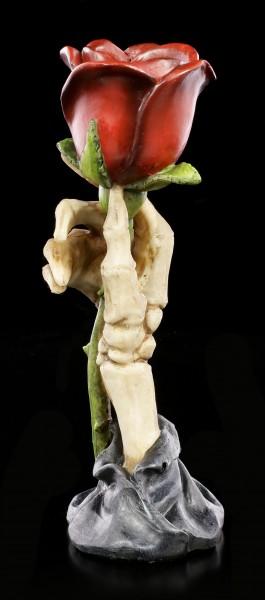 Tealight Holder Skeleton Hand - Eternal Flame
