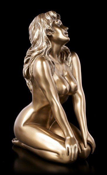 Female Nude Figurine - With Hands on Legs - large