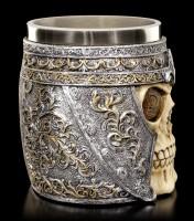 Fantasy Tankard - Roman Soldier Skull