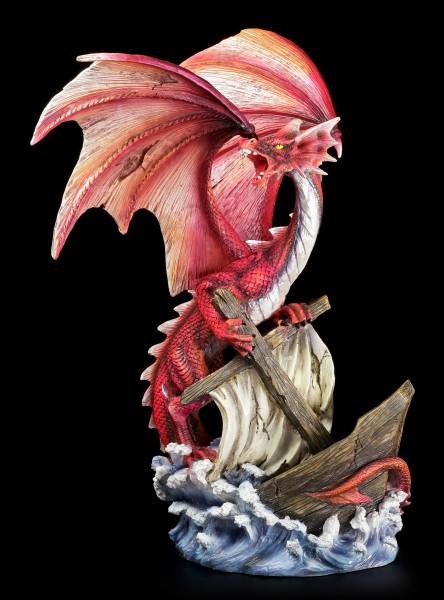 Vorschau: Drachen Figur - Abraxas reißt Schiff in den Abgrund