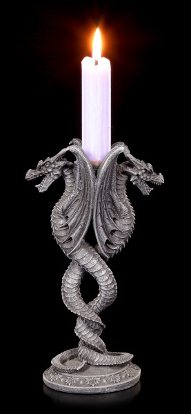 Candle Holder - Entwinded Dragons