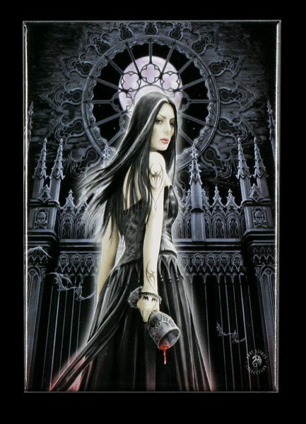 Magnet - Gothic Siren by Anne Stokes