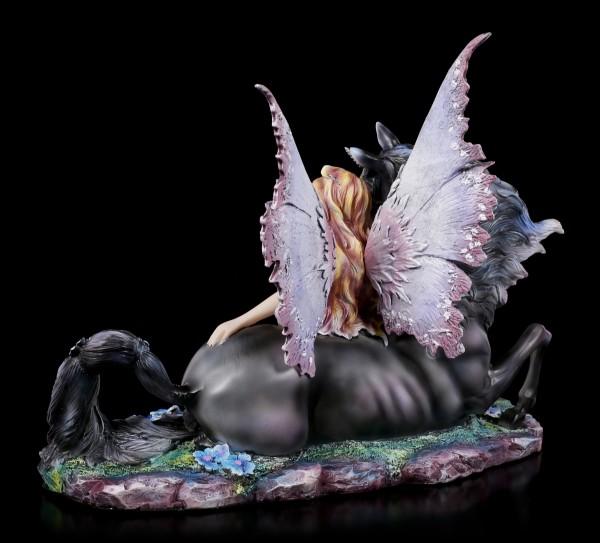 Elfen Figur - Elanor mit Einhorn