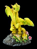 Dragon Figurine - Star Fruit by Stanley Morrison