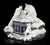 Wolf Figur als Kalender - Mother's Watch