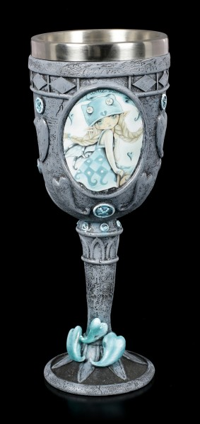 Gothic Fairy Goblet - Blue Monday