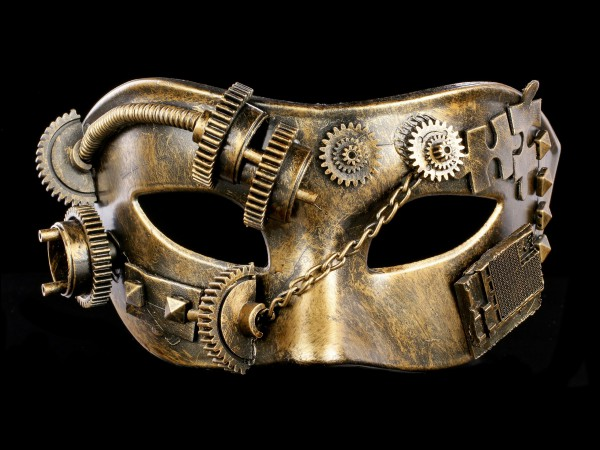 Steampunk Maske - Puzzled Masquerade